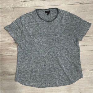 Men's True Religion Gray Viscose T-Shirt